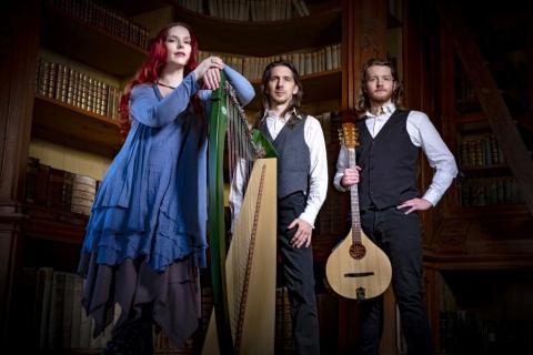 Spinning Wheel Band spielt Irish Folk Musik