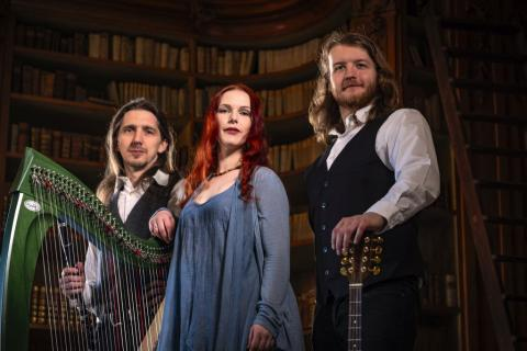 Spinning Wheel Band spielt Irish Folk Musik