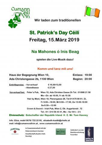 St. Patrick's Day Céilí